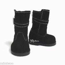 Mimi Collection Yo-SD 1/6 bjd Dollfie Leeke Doll Shoes Velvet Buckle Boots BLACK