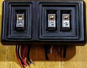 88-93 Dodge D150 D250 Truck LH Driver Side Window Door Lock Control Switches OEM