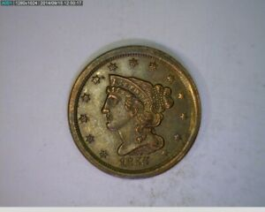 1855 Half Cent Penny ( 1-82 9m1r )