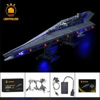 LED Light Kit For Star Wars Super Star Destroyer Building LEGO 10221 lighting