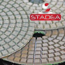 "4"" WetDry Diamond Polishing Pad Granite Concrete Marble"