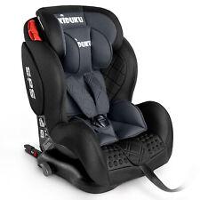 Autokindersitz Autositz Kinderautositz mit ISOFIX 9-36kg Gruppe 1+2+3 Grau
