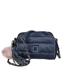 Borse da donna borsette pochetti blu fantasia trapuntato