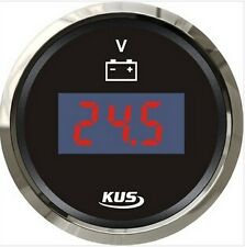 52mm black Digital voltage gauge CEVR-BS-9-32 (SV-KY23000)