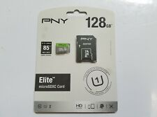 PNY 32GB/128GB Elite Class 10 U1 MicroSD Flash Card