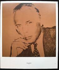 Giorgio Armani - Fashion & Paul Delvaux - Andy Warhol 1975 Poster 29x24.5cm,R107