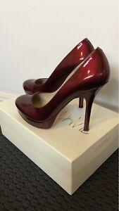 Ruby Red Pumps high heels Joan & David size 7M