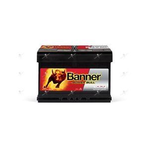 Batterie voiture Banner Power Bull P7412 12v 74ah 680A 278x175x190mm