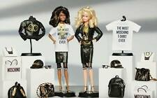 Bundle of 2 Moschino Barbie dolls (1 blonde and 1 brunette) NRFB Sold Out!