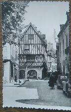 Carte postale ancienne animée Dijon Cote d'Or Vieilles Maisons Colombages CPA