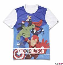 Marvel GIORDANO Age Of Ultron Mens T-shirt Size: Medium