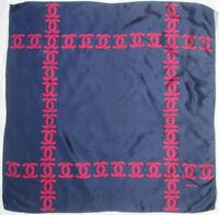 f33096993e7 CHANEL authentique foulard 100% soie en TBEG vintage 77 X 77 cm