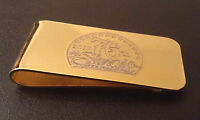 Personalized Custom Engraved Sturgis 76th Motorcyle Rally Brass Money Clip Gift