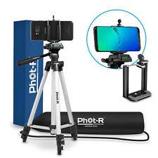 "PhotR 50"" Universal Tripod Adaptor Mount for Smartphone Mobile iPhone Camera Bag"