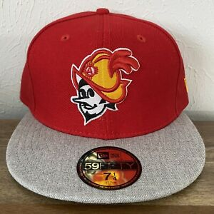 NWT USA Made New Era Albuquerque Dukes Isotopes MiLB 59Fifty Fitted Hat 7 1/4