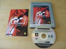 PLAYSTATION 2 / PS2 - Gran Turismo 3: A-Spec (Sony PlayStation 2, 2001) Platinum