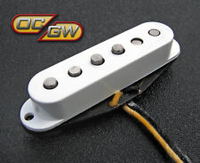 New Fender Custom Shop Fat '50s Strat Middle Pickup Rw/Rp 099-2113-002 Fat 50
