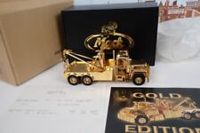 1st Gear 1/34 Scale No.19-2762 Gold Plated Mack R Model Wrecker Tow Truck M1268