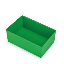 Bosch Sortimo 5St Insetbox grün D3 63 mm / Einsatzbox für L-Box 102