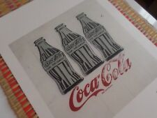 Andy Warhol - Coca Cola - Lithographie Georges Israel Editeur - 100 ex