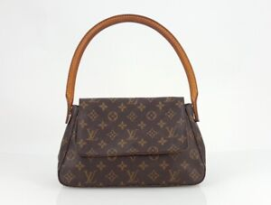 Louis Vuitton LV Monogram Mini Looping Hobo Shoulder Bag Handbag