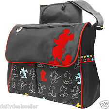Disney Mickey Mouse Messenger Baby Diaper Bag BRAND NEW Girls Boys Mens Womens
