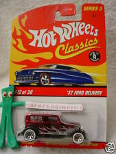 2007 Hot Wheels S3 Classics #12 '32 FORD DELIVERY 1932∞RED∞Series 3