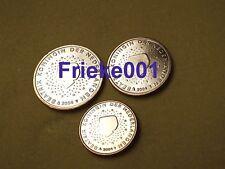 Nederland - Pays-Bas - 1,2 en 5 cent 2004 unc.