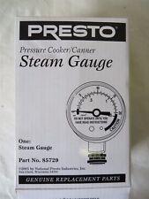 Presto Pressure Cooker Canner Steam Gauge Part No 85729 Replacement Part #5730