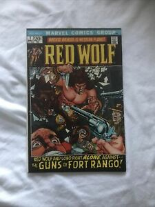 RED WOLF #1 MAY 1972 BRONZE Age Marvel Nm-