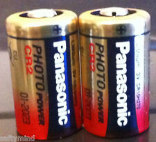 "Brand New ""2""  Panasonic CR2 3 Volts Single Use Battery for Camera, Meter,"