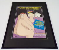Family Guy Stewie Untold 2005 Framed ORIGINAL 11x14 Vintage Advertising Display