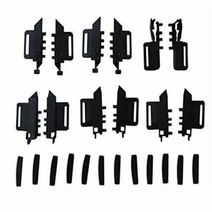 CURTAIN REPAIR SET FOR PEUGEOT SW 307 307 SW 407 ROOF FULL COMPLETE 24 PIECES