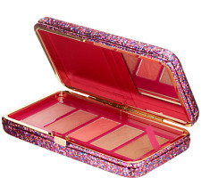 TARTE LIFE OF THE PARTY 5 COLOR CLAY BLUSH PALETTE & CLUTCH NEW in BOX AUTHENTIC