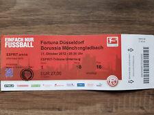 Ticket  Fortuna Düsseldorf : Borussia Mönchengladbach  Saison 2012