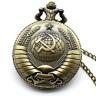 Mechanical fob pocket watch russian vintage  soviet military pendant