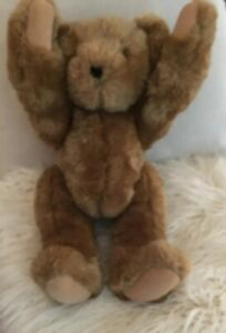 "Vermont Classic Teddy Bear 15"" Handcrafted Brown"