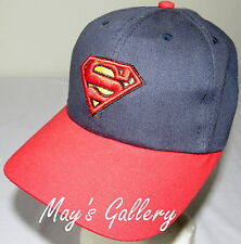 Superman Super man   Baseball Cap Hat  Base ball Adjustable NWOT Strap