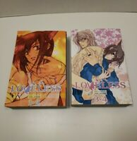 Loveless Manga 2 book set Vol. 1-4 By Yun Kouga (Tokyopop) Manga book in English