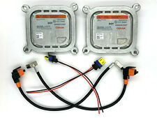 2x New OEM 10-12 Lincoln MKZ Xenon HID Headlight Ballast w/ Wiring Cables