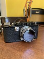 Leica iii Black Paint 1933 Rangefinder plus Case Body Only