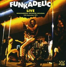 Live: Meadowbrook Rochester Michigan-12 Sept 1971 - Funkadelic (2009, CD NUOVO)