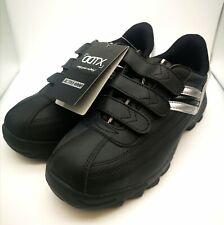 DDTX Men's Steel Toe Work  Lightweight Safety Sneakers Shoes Black size uk 5.