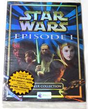 Rare Star Wars Episode 1 Merlin Stickers Album Israel Hebrew Version + 4 Pack