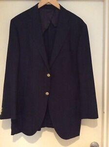 Herringbone Sydney Wool/Silk/Linen Jacket/Blazer
