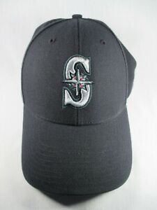 Seattle Mariners MLB 47 Black Adjustable Baseball Golf Cap Hat