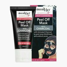 CHARCOAL MASK PEEL-OFF PORES DEEP PORE CLEANSING BLACKHEADS SPOTS CRUELTY-FREE