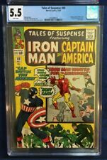 Tales Of Suspense #60 - CGC 5.5 - White Pages  - Black Widow