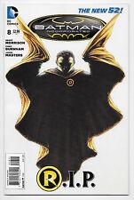 Batman Incorporated #8 DC Comics New 52 Death of Damian Wayne First 1st Print
