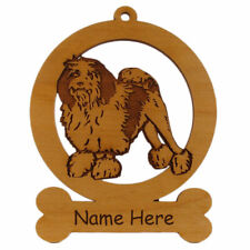 Lowchen Ornament 083508 Personalized With Your Dogs Name